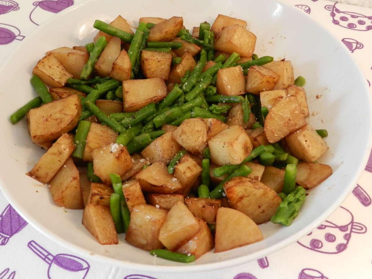 Kartoffel-Spargel-Blech
