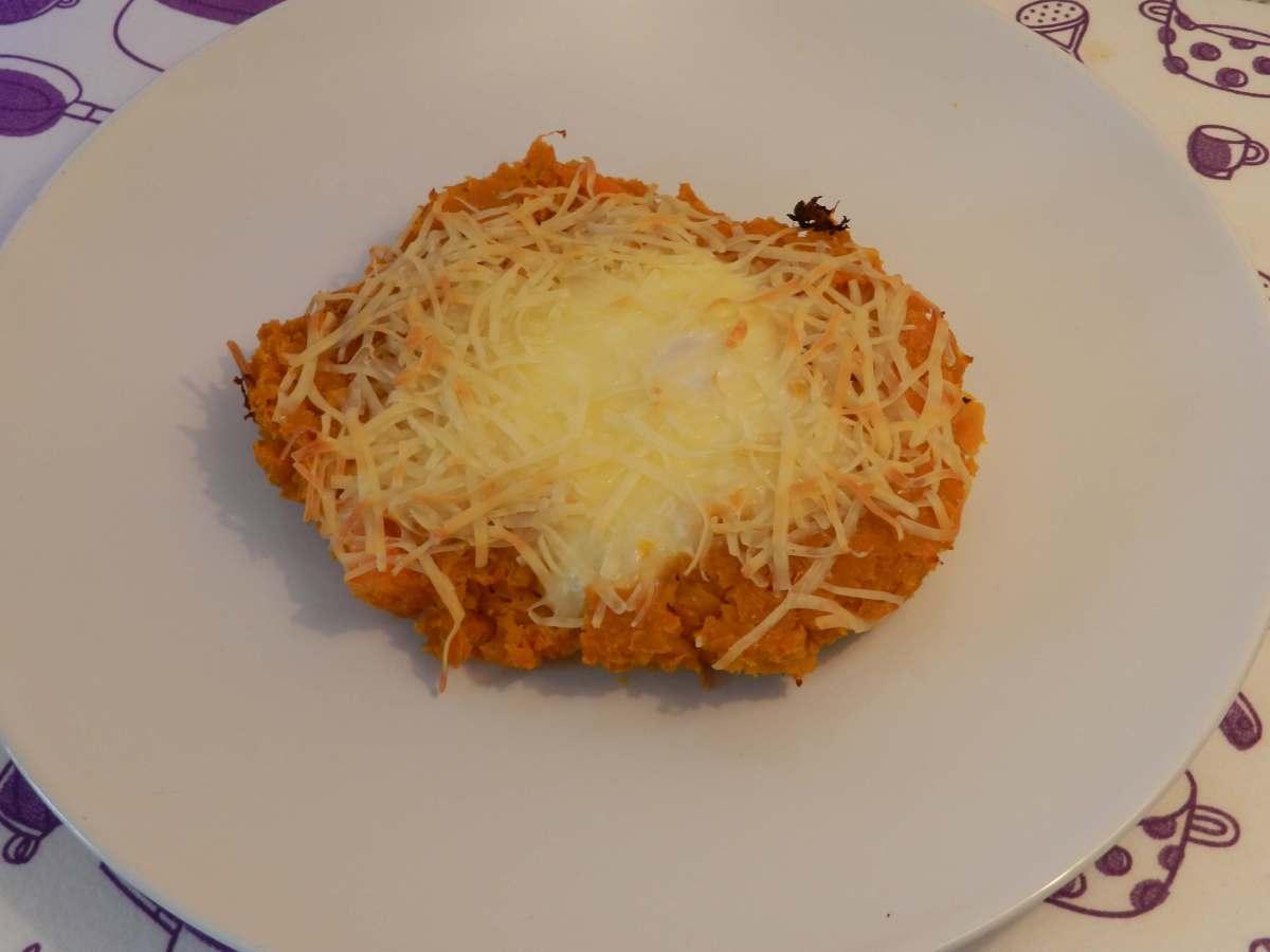 Fake Schnitzel ausSüßkartoffel