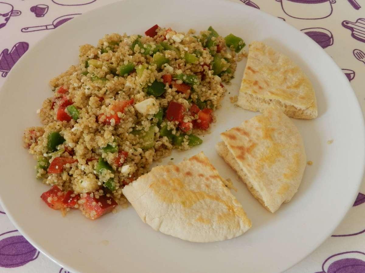 Griechischer Salat mitQuinoa
