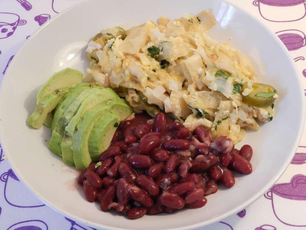 Mexikanischer Frühstücksteller