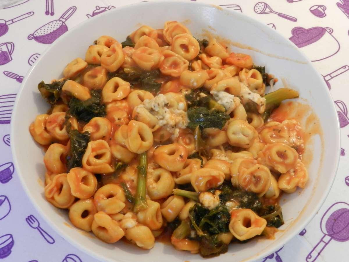 Tortellini-Kale-Pfanne