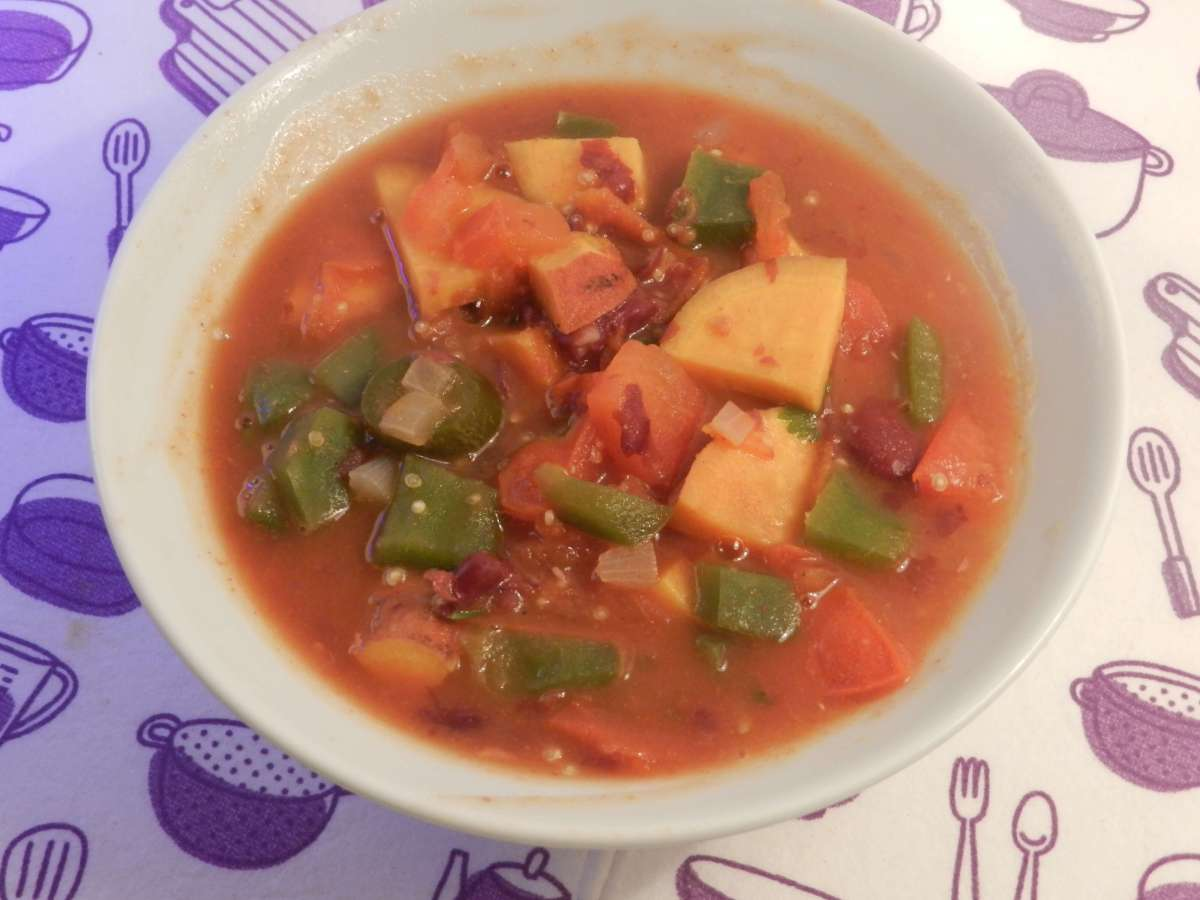 Süßkartoffel-Quinoa-Chili