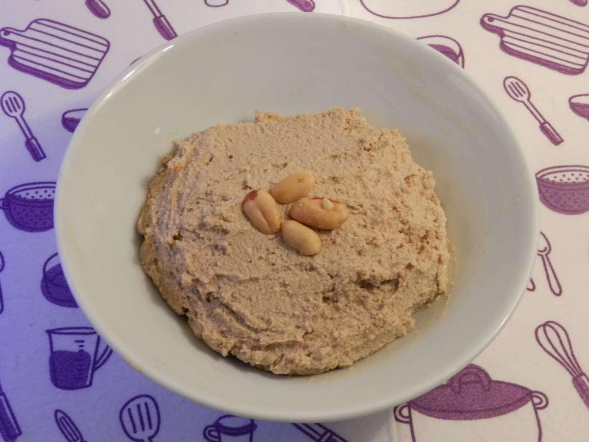 Erdnussbutter-Tofu-Pudding